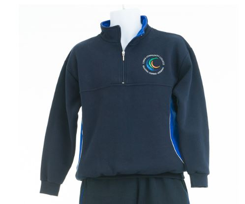 Cabra-Community-College-Tracksuit-Top
