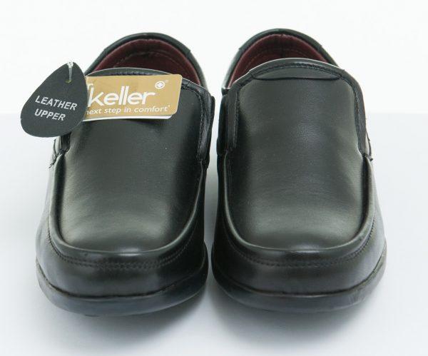 Boys-Shoes-Dr-Keller-Slip-on-Black-Leather