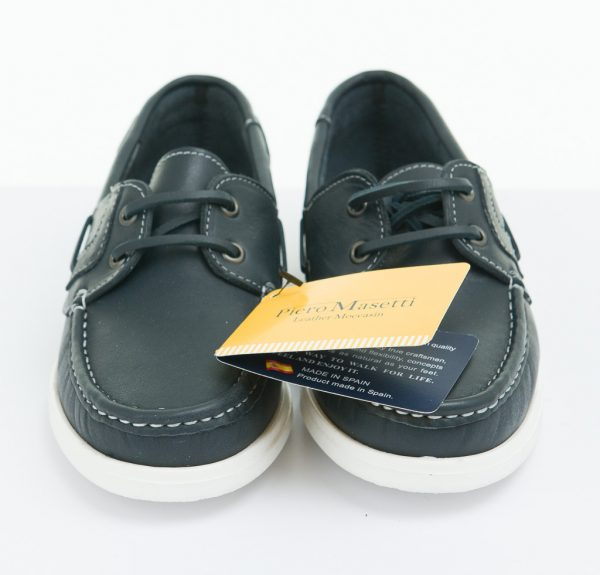 Girls-Shoes-Lace-Up-Piero-Deck-Navy-Leather
