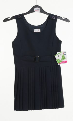 Pinafore False Belt Navy