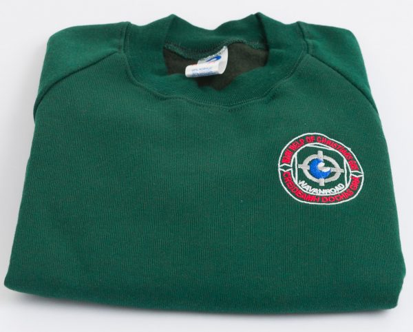Mary-Help-of-Christians-Tracksuit-TopGreen