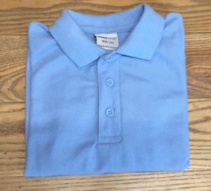 Polo-Shirt-Blue