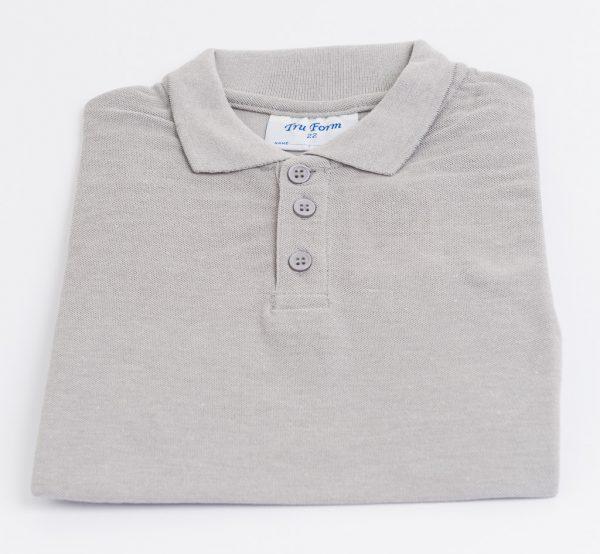 Polo-Shirt-Grey
