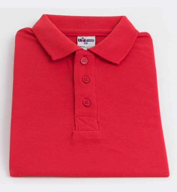 Polo-Shirt-Red