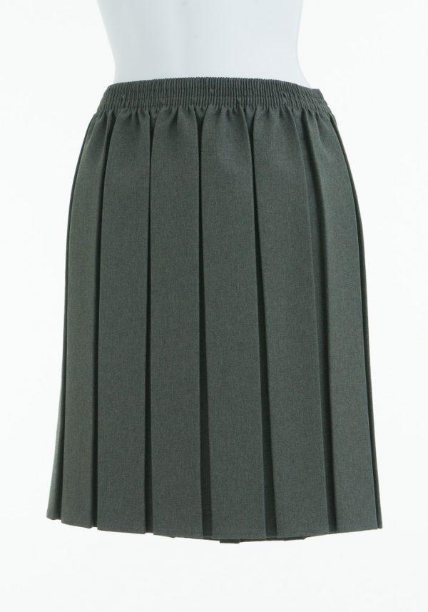 Skirt Grey Elastic Waist
