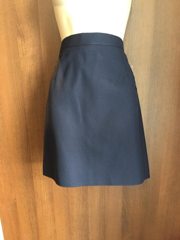 Skirt Navy Straight