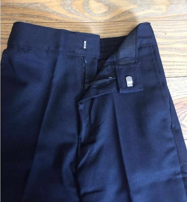 Generic Trousers Zip & Clip Navy 2