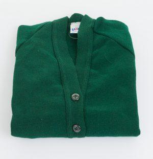 Knit-Cardigan-Green