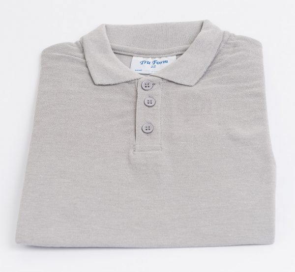 Polo-Shirt-Grey