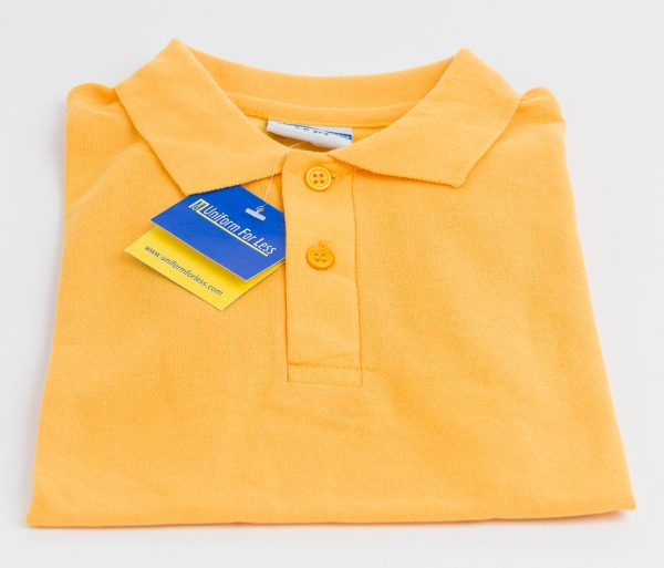 Polo-Shirt-Yellow