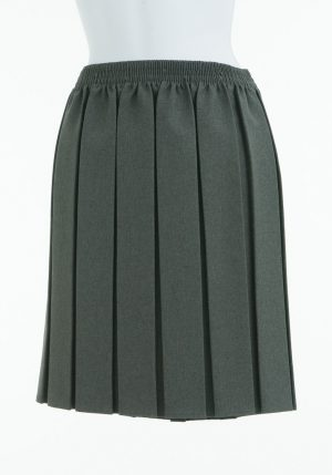 Skirt Grey Elastic Waist