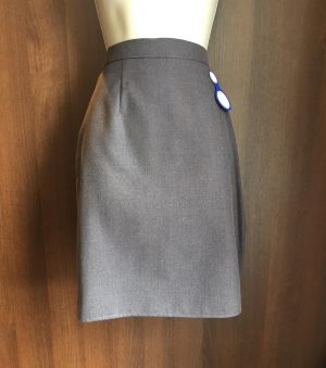 Skirt Straight Grey