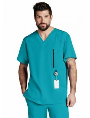 Barco-One-Scrub-top-0115-Teal