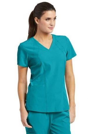 Barco-One-Scrub-top-5105-Teal