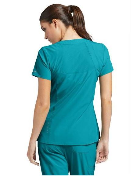 Barco-One-Scrub-top-5105-Teal2