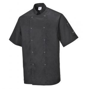 C733-CUMBRIA-CHEFS-JACKET-BLACK